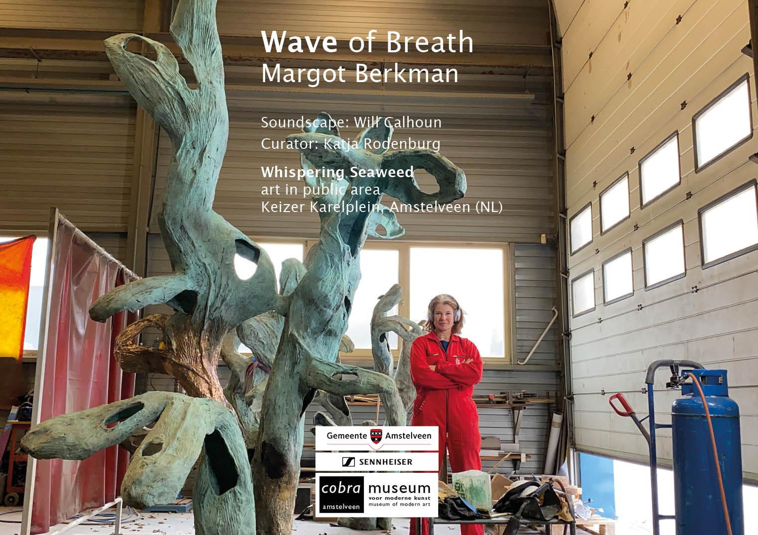 Margot Berkman aan het werk